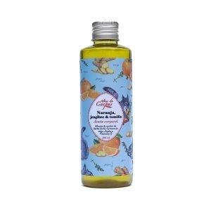 Aceite-corporal-Naranja-jengibre-y-tomillo-220ml.-Mezcla-de-aceites-de-sacha-inchi-germen-de-trigo-argan-y-vit-E