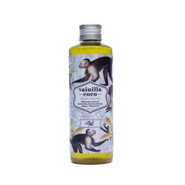 Aceite-corporal-vainilla-coco-220ml-Mezcla-de-aceites-de-sacha-inchi-germen-de-trigo-argan-y-vitamina-E