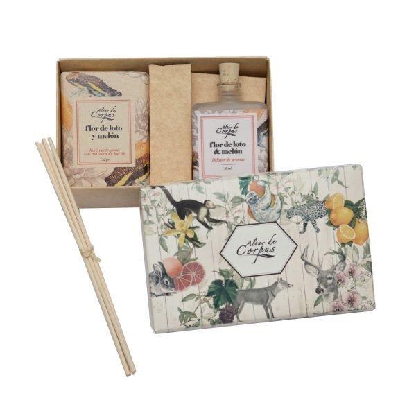 Caja-regalo-Flor-de-Loto-y-Melón