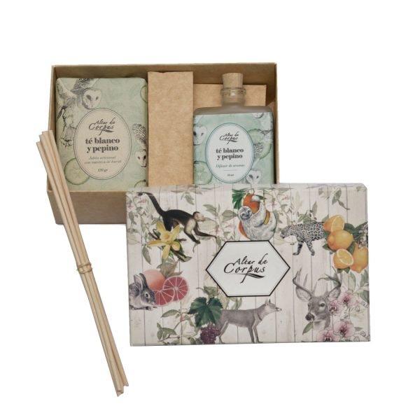 Caja-regalo-Té-Blanco-y-Pepino