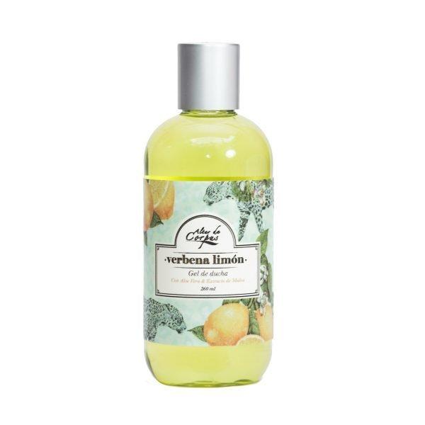 Gel-de-Ducha-con-Aloe-Vera-y-Extracto-de-Malva-236ml-Verbena-Limón.-Enriquecido-con-Mantequilla-de-Limón-y-extracto-de-Limón