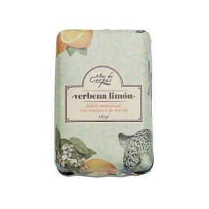 Jabón-Artesanal-con-Manteca-de-Karité-130gr-Verbena-Limón