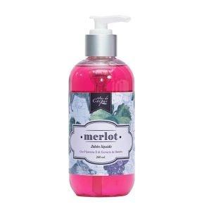 Jabón-líquido-con-vitamina-E-y-extracto-de-Llantén-236ml-Merlot.-Enriquecido-con-extracto-de-Uva-y-aceite-de-Uva