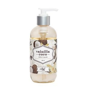Jabon-Líquido-con-Vitamina-E-y-extracto-de-llantén-236-ml-Vainilla-Coco.-Enriquecido-con-Aceite-Monoi-de-Tahití