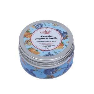 Mantequilla-corporal-Naranja-jengibre-y-tomillo-con-aceite-de-macadamia-coco-y-albaricoque-220gr.-Enriquecida-con-extracto-de-tomillo-y-aceite-de-jengibre