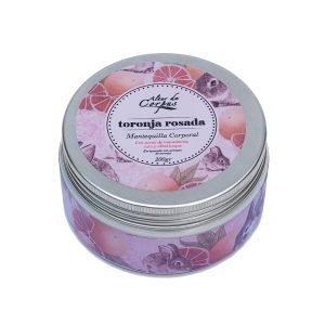 Mantequilla-corporal-toronja-rosada-con-aceite-de-macadamia-coco-y-albaricoque-220gr-Enriquecido-con-extracto-de-toronja