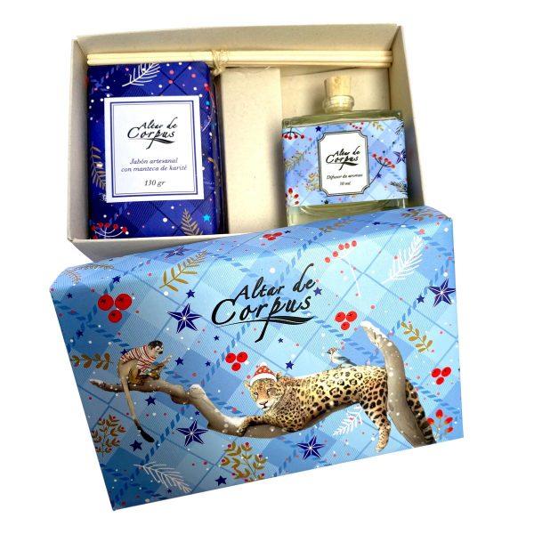 caja-navidad-jabon-y-difusor-jaguar-Altar-de-Corpus
