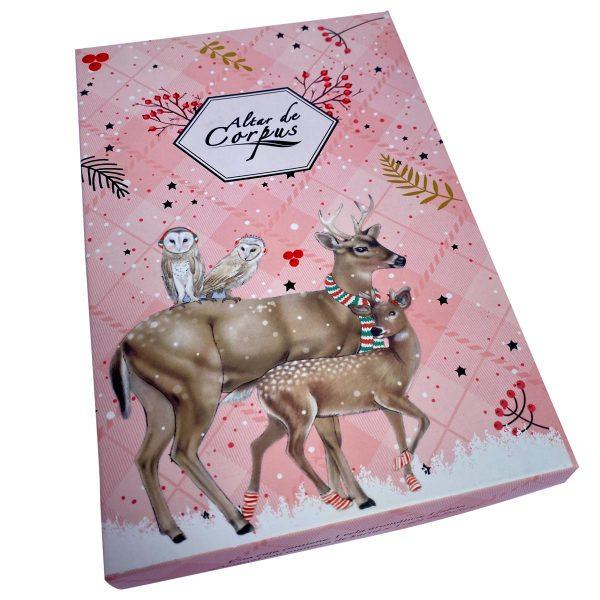 caja-navidad-venado-rosada-Altar-de-Corpus