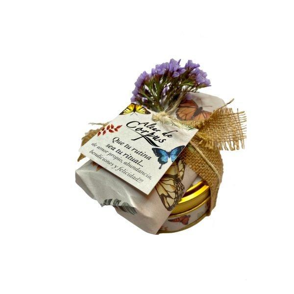 Kit-de-regalo-Jabon-exfoliante-y-vela-Aromatica-Altar-de-Corpus-Cuidado-corporal-