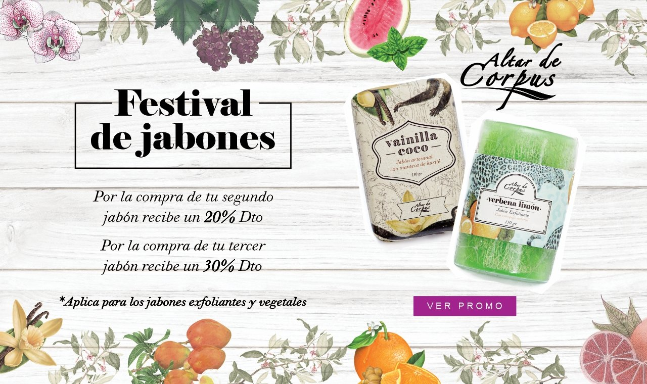 Festival de Jabones - Altar de Corpus
